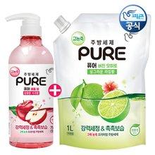 NEW피죤 리치퍼퓸 고농축 섬유유연제_2000ml(용기)/일반드럼겸용/향3배강화