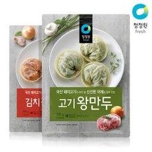 [청정원] 왕만두 770g x 4개 (김치, 고기 택1)