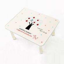[키높이 조절가능] 신지가토 세이프티 테이블 치어플썬데이 ( 600*480) 찻상/노트북테이블로~