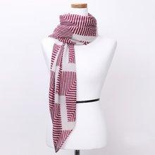 [파파브로]지그재그 가을 겨울 간절기 패션 스카프 CRA-WSC3113-와인