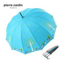 피에르가르뎅 나무별 자동 장우산 백화점우산