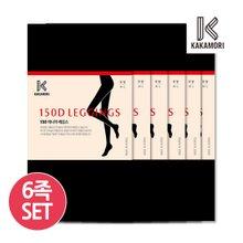 [카카모리] 150D 레깅스 6족세트