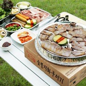 2017년형 오그릴 슬림 일회용 숯불구이기 캠핑 그릴