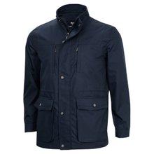 [파파브로]남성 국산 바람막이 신사 코트 자켓 점퍼 HAN-A9-SA-네이비