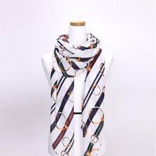 [파파브로]키링 가을 겨울 간절기 패션 스카프 DRN-WSC0149-아이보리