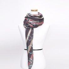 [파파브로]키링 가을 겨울 간절기 패션 스카프 DRN-WSC0149-차콜