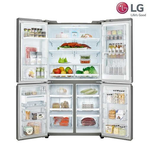 LG DIOS 디오스 매직스페이스 5도어 냉장고 V8700 (F872SS31H) 870리터