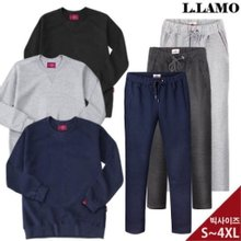 [L.LAMO]엘라모 균일가 무지 맨투맨 트레이닝팬츠 남여공용 빅사이즈~4XL