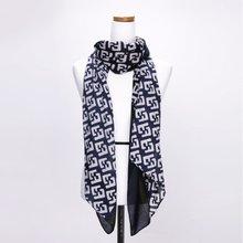 [파파브로]폰트 가을 겨울 간절기 패션 스카프 CRA-WSC3121-네이비