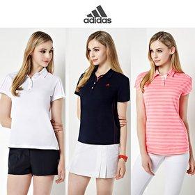 [아디다스] 골프 아디크로스 여성 반팔셔츠 3종세트 BFYKSG01
