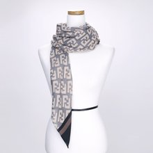 [파파브로]폰트 가을 겨울 간절기 패션 스카프 CRA-WSC3121-블랙