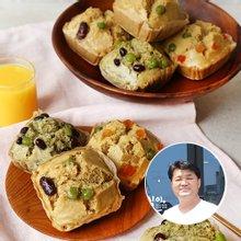 [산지장터] 전남 순천 송진영님의 혼합 찰보리떡 12봉 x 2박스 (매실,유자,쑥)