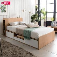 [에넥스]트리플 멀티수납 침대(SS)-독립 스프링 매트리스