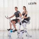 [렉스파]접이식 헬스자전거 YA-140/실내자전거/헬스싸이클/유산소운동