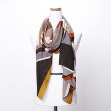 [파파브로]H로고 가을 겨울 간절기 패션 스카프 DRN-WSC0152-머스타드