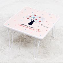 [귀여운 케릭 찻상/노트북테이블로~] 신지가토 세이프티 테이블 치어플썬데이 ( 400*400)
