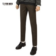 [TI FOR MEN] 티아이포맨 모100 체크 팬츠 M151MPT241M1KH5