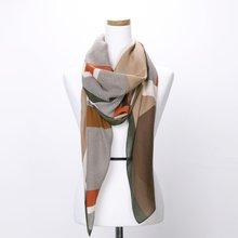 [파파브로]H로고 가을 겨울 간절기 패션 스카프 DRN-WSC0152-카키