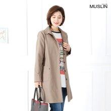 엄마옷 모슬린 벨트 테이핑 바바리 자켓 JK902070