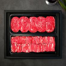 [국제식품]1등급 한우 냉장갈비혼합 2.5kg/찜갈비1.5kg,불고기1kg