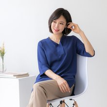 마담4060 엄마옷 로멘틱차이나블라우스-ZBL003043-