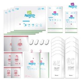 [수납의 마법사] 자동 요술압축팩 (30종 - 이불용, 의류용 등 필수품목 포함)