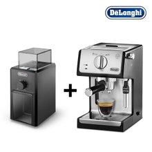 [드롱기] 반자동커피머신+커피그라인더 세트 (ECP35.31+KG79)