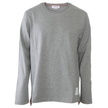 [톰브라운]19FW MJS068A 00042 055 남성 삼선탭 롱슬리브 티셔츠 그레이