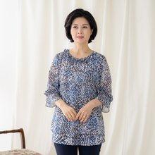 마담4060 엄마옷 은은한프릴블라우스-ZBL005055-