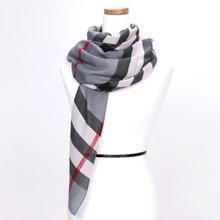 [파파브로]노바체크 가을 겨울 패션 스카프 CRA-WSC3060-그레이