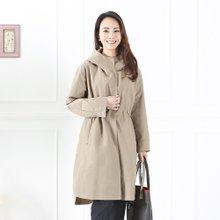 엄마옷 모슬린 루즈후드 사파리 자켓 JK902014