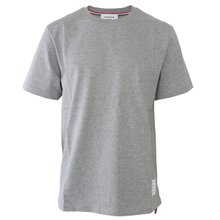 [톰브라운]19FW MJS067A 00042 055 남성 삼선탭 라운드 티셔츠 그레이