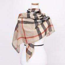 [파파브로]노바체크 가을 겨울 패션 스카프 CRA-WSC3060-베이지