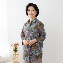 마담4060 엄마옷 꽃과함께셔츠-ZBL005053-
