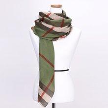 [파파브로]노바체크 가을 겨울 패션 스카프 CRA-WSC3060-카키