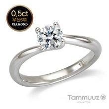 [타뮤즈] 14K 우신 5부 다이아몬드-웬디-D2021R-화이트골드-결혼반지-프로포즈