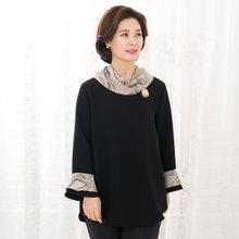 마담4060 엄마옷 스타일리시블라우스-ZBL912006-