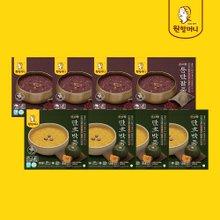 [원할머니] 우리땅 단호박죽/통단팥죽 250g x 8팩