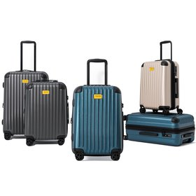 [트레보스] 7206N(20형+24형) 여행 캐리어 세트 (TSA락/확장/고급더블휠)