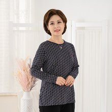 엄마옷 마담4060 가을바람티셔츠-ZDTE909006-