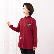 마담4060 엄마옷 트윙클플라워티셔츠-ZTE912057-