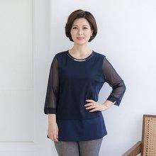 마담4060 엄마옷 즐거운설레임티셔츠 ZTE909009