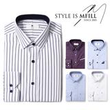 [엠필] 남자 긴팔 드레스셔츠 1+1 4종