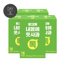 [무료배송2+1] 데이앤 내몸에 풋사과스틱분말 14포 x5박스(70포)