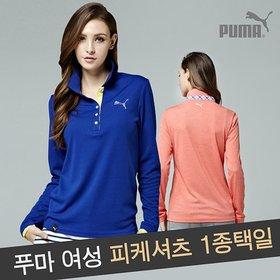 [푸마] [PUMA]푸마 여성 피케셔츠 1종 스타일 택일