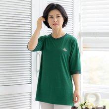 마담4060 엄마옷 매일함께티셔츠-ZTE005012-