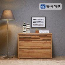 동서가구 닥스 900 광폭 3단 서랍장 M