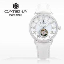 카테나(CATENA) 오토매틱 여성가죽시계(CA019-OB)