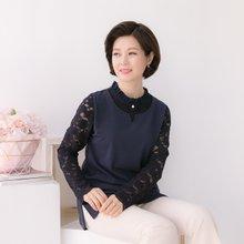 마담4060 엄마옷 매력만점블라우스 QBL901029