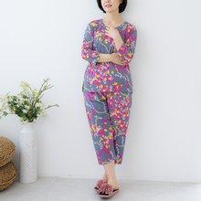 마담4060 엄마옷 꽃구슬홈웨어세트-ZHW005001-